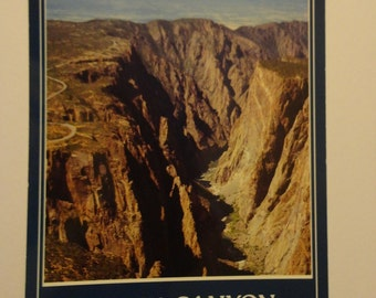 Black Canyon of the Gunnison Postcard ~ FREE Domestic Shipping