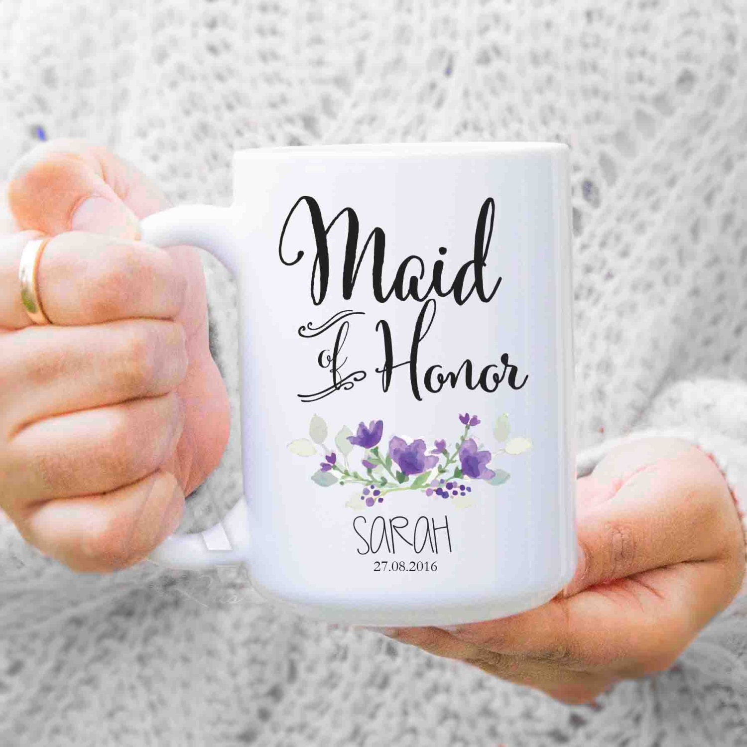Maid Of Honor Gift Bridesmaid Gifts Giftts For Maid Of