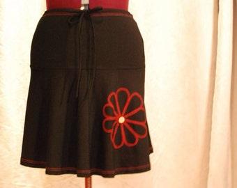 Adjustable skirt plus size