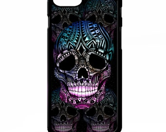 Sugar skull gothic supernatural day of the dead graphic cover for Samsung Galaxy S5 S6 s7 edge plus note 4 5 Sony xperia Z2 Z3 phone case