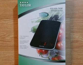 Taylor digital kitchen scale