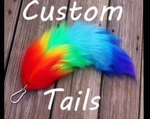 Custom 20 Inch Yarn Tail