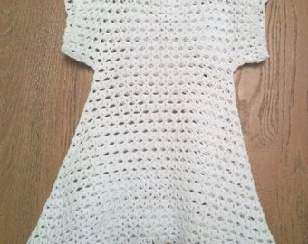 hand made Knitted     tunic for girls