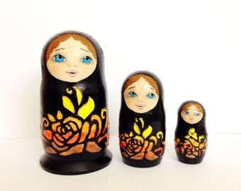 Russian doll matryoshka set
