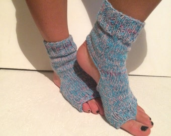 flip flop yoga sock! new! women multicolors  Yoga Socks  flip flop Dance Socks  Women  Socks  Colorful Hipster Socks Yoga active wear