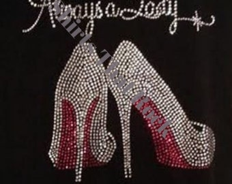 Always A  Lady Red Bottoms T-Shirts © 2015. All Rights Reserved.