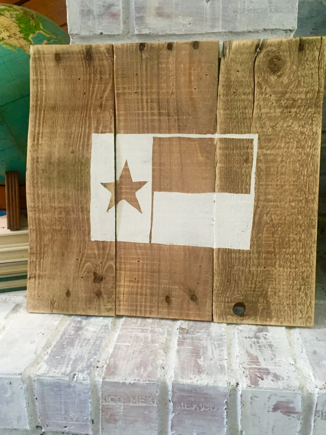 Pallet Wood Texas Flag Sign by GNGrestoration on Etsy