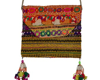 PAKISTANI BAG - Vintage small Pakistani Bag - Type 8