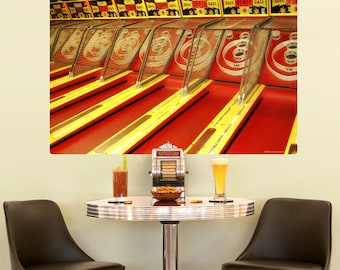 Skee Ball Machines Arcade Wall Decal - #54463