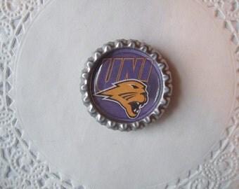 UNI Panthers Magnet (20) - UNI Panthers Refrigerator Magnet -- sports magnet -- office magnet