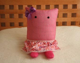 Decorative pillow (pink)