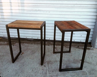 Porto Reclaimed Side Table