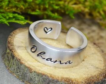 Ohana - Hawaiian Family Ring