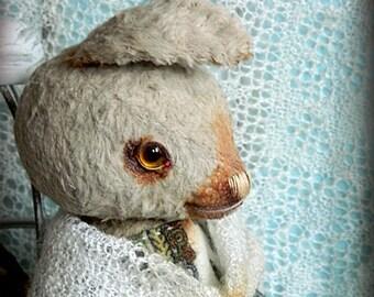 "OOAK artist teddy rabbit ""Arisha"""
