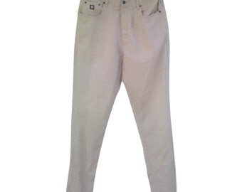 Vintage Chaps Ralph Lauren men pants beige W36 L34 100% cotton