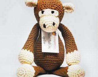 Monkey Stuffed Animal - Stuffed Monkey - Stuffed Animal Monkey - Stuffed Toy Monkey - Stuffed Monkey Animal - Stuffed Monkey for Baby