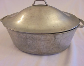 SALE! SUPERMAID Vintage Aluminum Roasting Pan Self Basting Lid