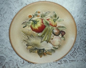 1950's Fruit wall plaque 3D