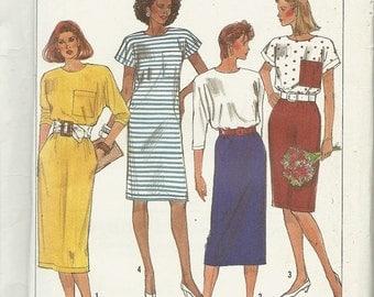 Sale Simplicity 9197   Misses Dress in two lengths   Size 6-24  uncut
