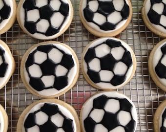 SOCCER BALL Sugar Cookie