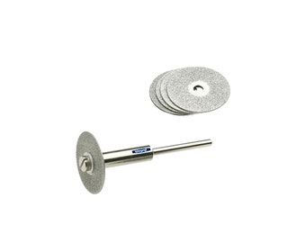 Diamond CUT-OFF Discs 240 Grit  Thickness 0.7  Package of 5 including mandrel  WA 100-039