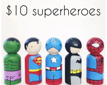 Ten dollar superheroe