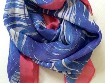 Silk Georgette Designer Scarf