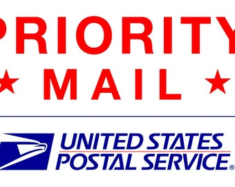 Priority Mail 2-3 Day Expedited Shipping Option (US Domestic Only)