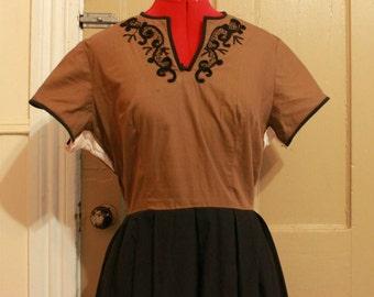 Black (& Brown) Beauty Dress