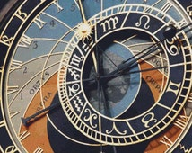 Astronomical Clock PDF Cross Stitch Pattern
