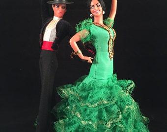 Dancing Flamenco Couple