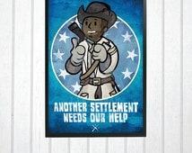 Fallout 4 - Preston Garvey - Another Settlement needs our help