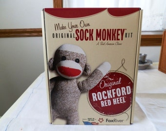 Original Rockford Sock Monkey Kit