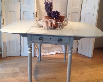 Pembroke Dining Table.  Hand painted in Suffolk.