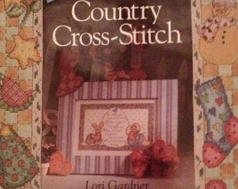 Sweet & Simple Country Cross-Stitch by Lori Gardner