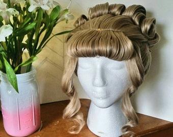 Cinderella Updo Wig