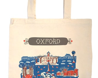 Oxford MS Tote Bag-City Tote-Ole Miss Tote-Any City Tote-Red-Blue-Gray-Personalized-Custom