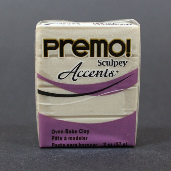 Pearl Premo Sculpey Polymer Clay 2oz Oven Bake Clay