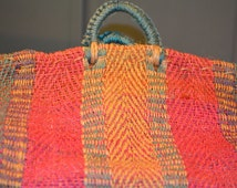 Woven Bag from Mexico, Large