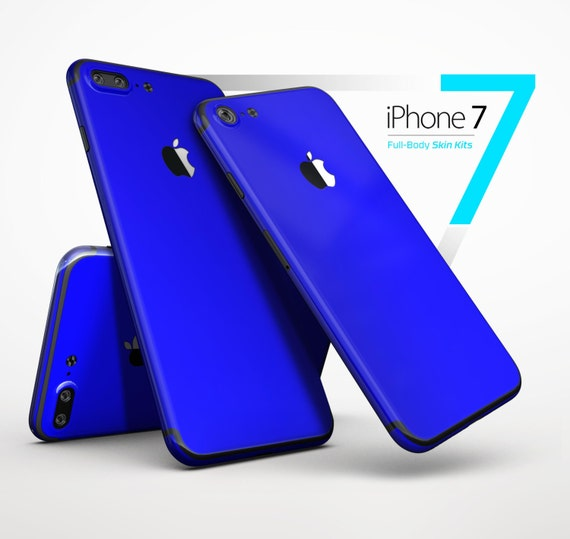 blue iphone 6 solid royal blue skin kit for the iphone x 8 8 plus 7 7 10293