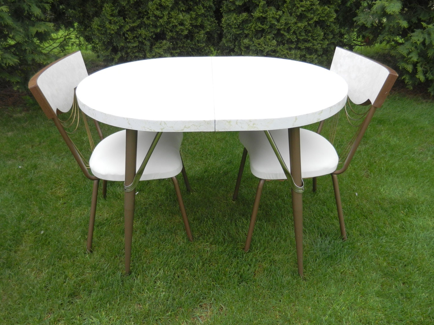 Formica Kitchen Table and Chairs Set Dinette Set by ...