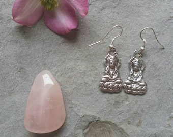 Quan Yin earrings - Quan Yin - Quan Yin jewellery - Kwan Yin