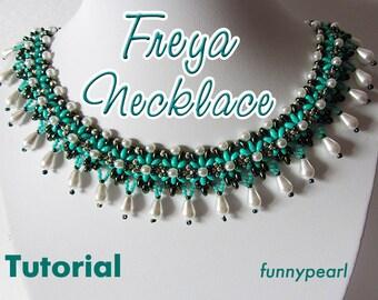 Necklace Freya. Tutorial PDF