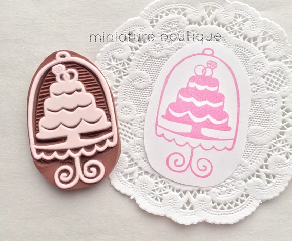 Wedding Cake Stamp Cake Stand Stamp Wedding Invites Stamp