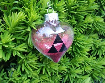 Legend Of Zelda Heart Container Christmas Ornaments YELLOW ONLY