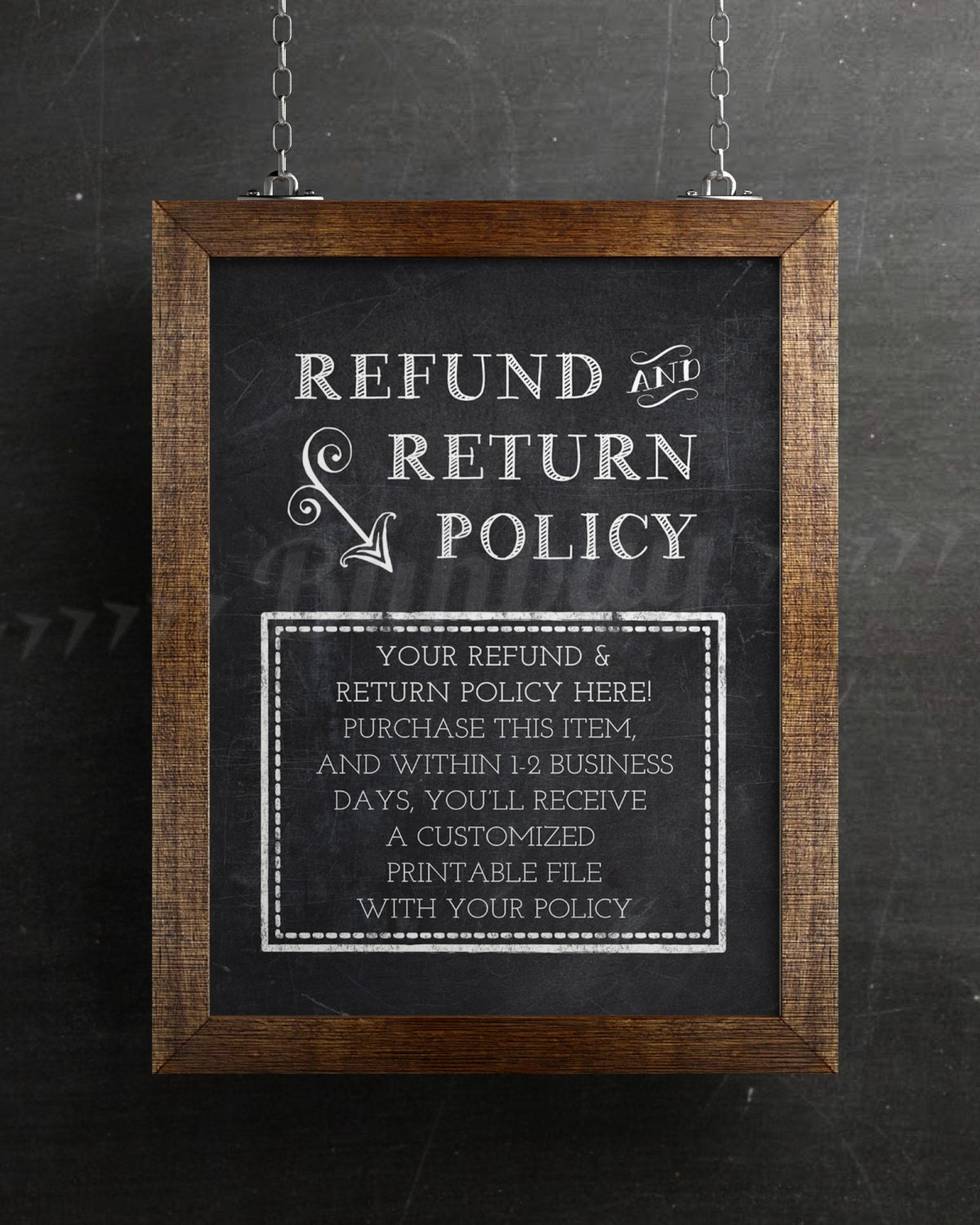 how to create your own return policy for woocommerce