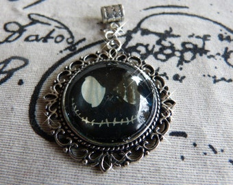 Black monster - pendant with motif from magazine/catalog