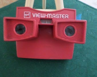 View Master Viewer Red White & Blue