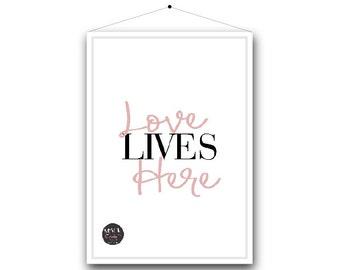 Quote Prints | Live, Laugh, Love.