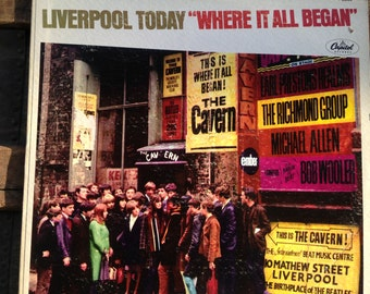 Liverpool Today - Where It All Began - vinyl record